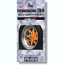 Rims & tires  - 1:24 - Fujimi - 193052 - fuji193052 | The Diecast Company
