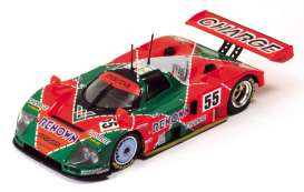 Mazda  - 1991 red/green - 1:43 - IXO Models - lm1991 - ixlm1991 | The Diecast Company