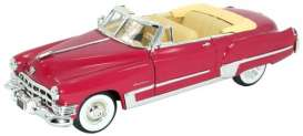 Cadillac  - 1949 coral - 1:32 - Signature Models - sig32353 | The Diecast Company