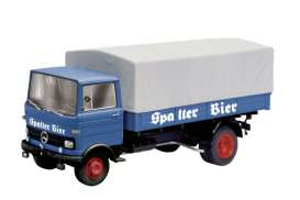 Mercedes Benz  - 1965 blue - 1:43 - Schuco - 3525 - schuco3525 | The Diecast Company