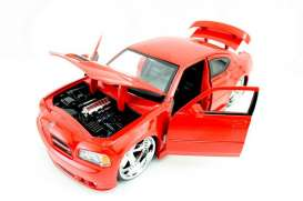 Dodge  - 2006 red - 1:24 - Jada Toys - 90796r - jada90796r | The Diecast Company