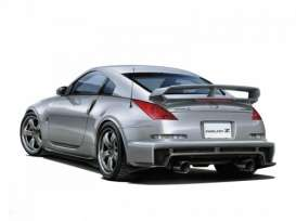 Nissan  - Z33 Fairlady Z version Nismo 2007  - 1:24 - Aoshima - abk155229 | The Diecast Company