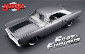 Plymouth  - 1970 grey  - 1:18 - GMP - gmp18857 | The Diecast Company
