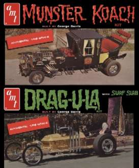 Munsters  - 1:25 - AMT - s619 - amts619 | The Diecast Company