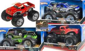 Monster Jam  - 2008 mix - 1:24 - Hotwheels - mvG3459-1 - hwmvG3459-1mix6 | The Diecast Company