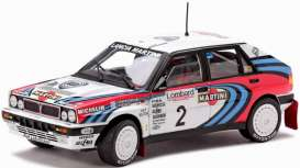 SunStar - Lancia  - sun3120 : Lancia Delta HF Integrale 16V winner rally 1991 Kankkunen #2, white/red/blue