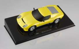 Lamborghini  - 2007 yellow metallic - 1:43 - Hotwheels Elite - mvp4882 - hwmvp4882 | The Diecast Company