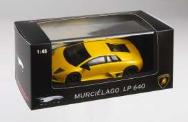 Lamborghini  - 2007 yellow - 1:43 - Hotwheels Elite - mvp9942 - hwmvp9942 | The Diecast Company