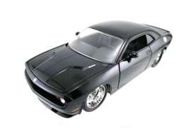 Dodge  - 2008 black - 1:24 - Jada Toys - 92033bk - jada92033bk | The Diecast Company