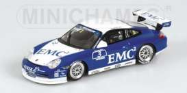 Porsche  - 2004 blue/white - 1:43 - Minichamps - 400046203 - mc400046203 | The Diecast Company