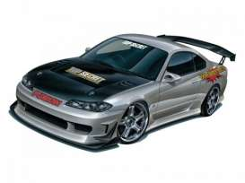 Nissan  - SILVIA S15 TOP SECRET  - 1:24 - Aoshima - 05874 - abk05874 | The Diecast Company