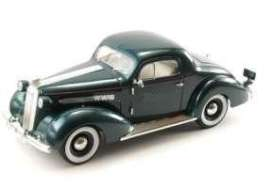 Pontiac  - DeLuxe 6 1936 dark green - 1:18 - Signature Models - 18106 - sig18106gn | The Diecast Company