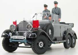Mercedes Benz  - 1938 grey - 1:18 - Signature Models - sig38202gy | The Diecast Company
