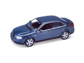 Audi  - 2005 blue - 1:24 - Welly - 22435b - welly22435b | The Diecast Company