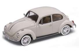 Volkswagen  - 1959 cream - 1:24 - Welly - welly22436cr | The Diecast Company