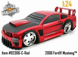 Ford  - red - 1:24 - Jada Toys - 92306r - jada92306r | The Diecast Company