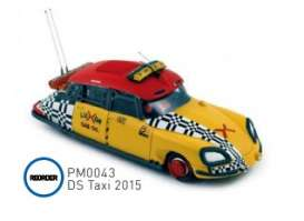 Citroen  - DS 2015 yellow/red - 1:43 - Norev - pm0043 - norpm0043 | The Diecast Company