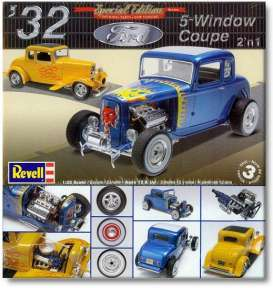 Ford  - 5 Window hot rod 1932  - 1:25 - Revell - US - 4228 - rmxs4228 | The Diecast Company