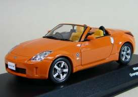 Nissan  - 2007 orange - 1:43 - J Collection - 13401op - jc13401op | The Diecast Company