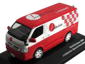 Toyota  - 2005 red/white - 1:43 - J Collection - jc36003jc | The Diecast Company