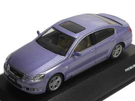 Lexus  - 2006 light blue - 1:43 - J Collection - jc38003hbl | The Diecast Company