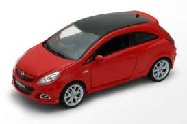 Opel  - 2008 red - 1:24 - Welly - 22511r - welly22511r | The Diecast Company