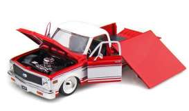 Chevrolet  - 1972 red/white - 1:24 - Jada Toys - 92370r - jada92370r | The Diecast Company