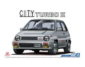Honda  - City Turbo II  - 1:24 - Aoshima - abk154802 | The Diecast Company