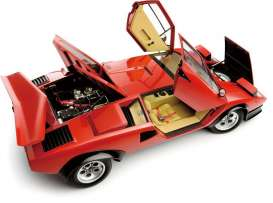 Lamborghini  - 1980 red - 1:12 - Kyosho - 8613RV - kyo8613RV | The Diecast Company