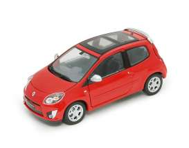 Renault  - 2008 red - 1:24 - Welly - 22500r - welly22500r | The Diecast Company