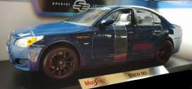 BMW  - 2006 blue - 1:18 - Maisto - 31144b - mai31144b | The Diecast Company