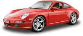 Porsche  - red - 1:18 - Maisto - 31692r - mai31692r | The Diecast Company