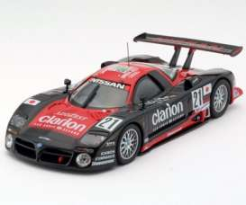 Nissan  - 1997 black/red - 1:43 - Kyosho - 3330a - kyo3330a | The Diecast Company