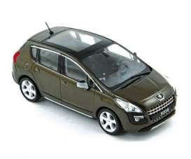 Peugeot  - 2009 brown - 1:43 - Norev - 473842 - nor473842 | The Diecast Company