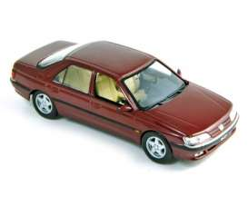 Peugeot  - 1998 dark red - 1:43 - Norev - 476501 - nor476501 | The Diecast Company