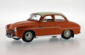 Syrena  - 1965 orange - 1:43 - Ixo Ist Collection - ixist065 | The Diecast Company