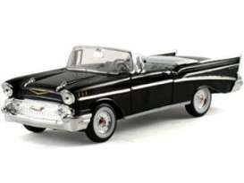 Chevrolet  - 1957 black - 1:32 - Signature Models - sig32430bk | The Diecast Company
