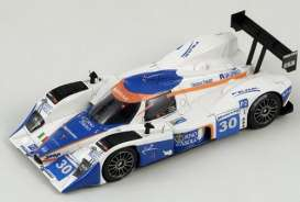Lola  - 2009 blue/white - 1:43 - Spark - S1447 - spaS1447 | The Diecast Company