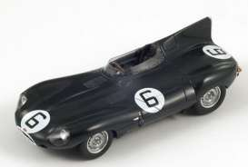 Jaguar  - 1955 green - 1:43 - Spark - 43LM55 - spa43LM55 | The Diecast Company