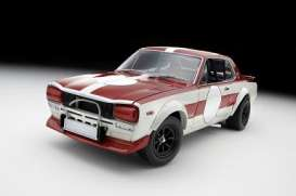 Nissan  - red/white - 1:18 - Kyosho - 8122Cr - kyo8122Cr | The Diecast Company