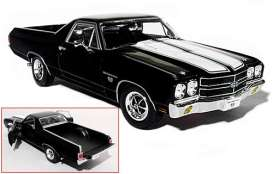 Chevrolet  - 1970 black - 1:18 - Welly - welly12543bk | The Diecast Company