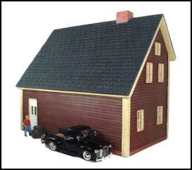 Accessoires  - 2009 maroon - 1:24 - American Diorama - 51580r - AD51580r | The Diecast Company
