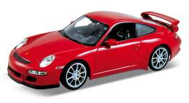 Porsche  - 2008 red - 1:18 - Welly - 18024r - welly18024r | The Diecast Company