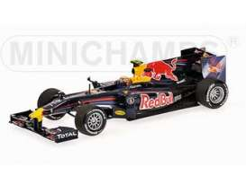 Red Bull Racing  Renault - 2010  - 1:43 - Minichamps - 410100006 - mc410100006 | The Diecast Company