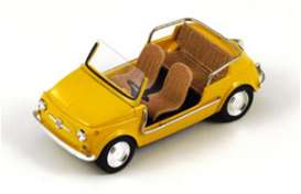 Fiat  - 1961 yellow - 1:43 - Spark - S1497 - spaS1497 | The Diecast Company