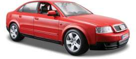 Audi  - red - 1:24 - Maisto - 31990r - mai31990r | The Diecast Company