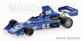 Tyrrell Ford - 1975 blue - 1:43 - Minichamps - 400750004 - mc400750004 | The Diecast Company