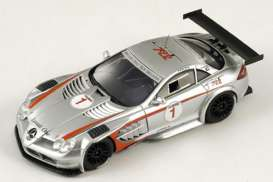 Mercedes Benz  - 2008 silver - 1:43 - Spark - S1027 - spaS1027 | The Diecast Company