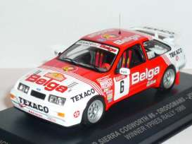 Ford  - 1988 red/white - 1:43 - IXO Models - rich001 - ixrich001 | The Diecast Company