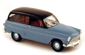 Simca  - P60 Ranch 1960 blue w/black roof - 1:43 - Norev - nor576011 | The Diecast Company